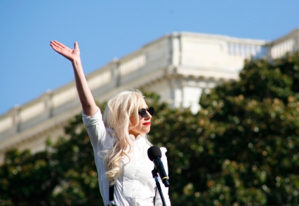 Lady Gaga wows the crowd.
