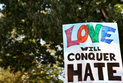 love will conquer hate