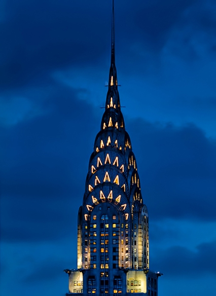 TP chrysler building tonight 2 22 13