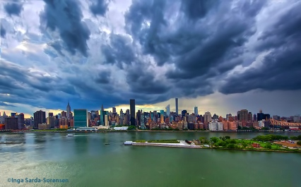 TP Summer solstice storm showers NYC 6 21 15