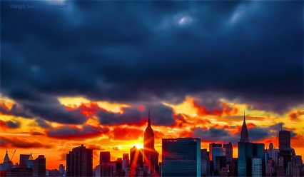 TP NYC sunset 9 19 15