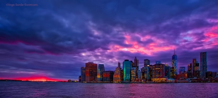 TP Gray pink sunset NYC 1 29 16